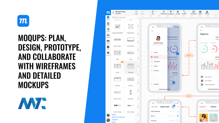 Moqups - Plan, Design, Prototype, Collaborate With Wireframes and Detailed Mockups